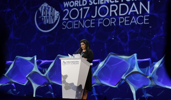 WSF2017 Jordan issues Science For Peace Declaration