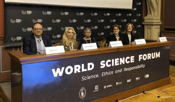 S4D4C: Celebrating global science diplomacy and collecting evidence at the World Science Forum